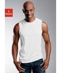 Baur Muscleshirts (3 Stück) Baumwolle Cotton made in Africa bunt 10 (60),4 (48),5 (50),6 (52),7 (54),8 (56),9 (58)