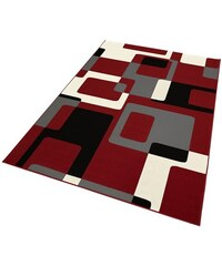 HANSE HOME Teppich Tiznit Retro Design abstrakt gewebt rot 2 (B/L: 80x150 cm),3 (B/L: 120x170 cm),4 (B/L: 160x230 cm),6 (B/L: 200x290 cm)