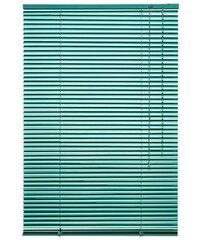 LIEDECO Aluminium-Jalousie Jalousie aus Aluminium im Fixmaß (1 Stck.) grün 36 (H/B: 220/110 cm),37 (H/B: 220/120 cm)