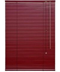 Aluminium-Jalousie Jalousie aus Aluminium im Fixmaß (1 Stck.) LIEDECO rot 13 (H/B: 160/60 cm),15 (H/B: 160/80 cm),16 (H/B: 160/90 cm),17 (H/B: 160/100 cm)