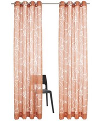 Gardine Pattani (2 Stück) MY HOME orange 1 (H/B: 145/140 cm),2 (H/B: 175/140 cm),3 (H/B: 225/140 cm),4 (H/B: 245/140 cm)