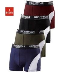 Authentic Underwear Le Jogger Authentic Underwear Boxer (4 Stück) mit sportlichem Colorblocking in mit Webbund Farb-Set 110/116,122/128,134/140,146/152,158/164,170/176,98/104,182