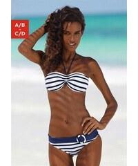 Bandeau-Bikini Venice Beach blau 32 (65),34 (65),36 (70),38 (75),40 (80)