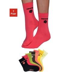 RED LABEL Bodywear Wochentagssocken (7 Paar) in leuchtenden Farben S.OLIVER RED LABEL bunt 19-22,23-26,27-30,31-34,35-38,39-42