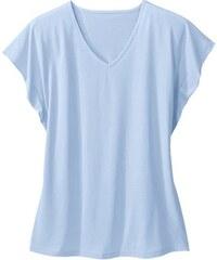 Damen Classic Basics Shirt mit weiten Ärmeln CLASSIC BASICS blau 38,40,42,44,46,48,50,52,54,56