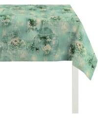 Mitteldecke Jade Baumwolldruck APELT blau 95x95 cm