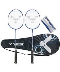VICTOR Badminton Set Atomos 600 Set blau