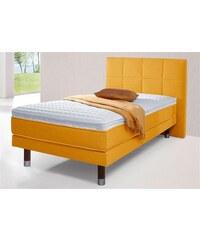 Breckle Boxspring-Bett 1 (=grau),2 (=beige),3 (=maisgelb)