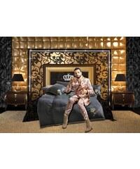 GLÖÖCKLER BY KBT BETTWAREN Gänsedaunenbettdecke Glööckler by KBT Bettwaren Seiden Luxus Warm