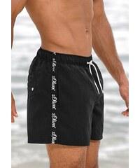 Badeshorts kurze oder lange Form RED LABEL Beachwear S.OLIVER RED LABEL schwarz L(52),M(50),S(48),XL(54/56),XXL(58/60)