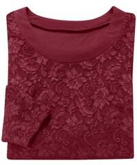 LADY Damen Lady Shirt leicht tailliert rot 36,38,40,42,44,46,48,50,52,54