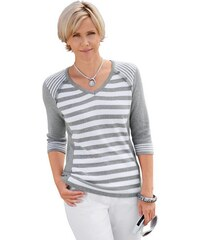 Damen Collection L. Pullover COLLECTION L. grau 36,38,40,42,44,46,48,50,52,54