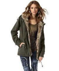 Laura Scott Damen Parka grün 32,34,36,38,40,46