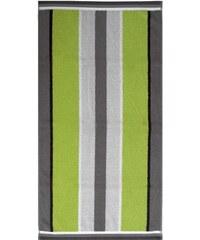 Dyckhoff Badetuch Retro Streifen mit Längsstreifen grün 1xBadetuch 70x140 cm