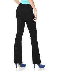 Arizona Damen Bootcut-Jeans Super-Stretch schwarz 17,18,19,20,21,22,76,80,84,88