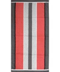 Dyckhoff Handtücher Retro Streifen längsgestreift rot 2xHandtücher 50x100 cm