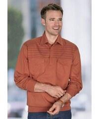 Baur Poloshirt mit Bündchen an Ärmeln und Saum orange 44/46,48/50,52/54,56/58,60/62