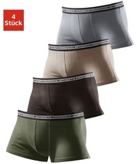 Authentic Underwear Boxer (4 Stück) sportlicher Boxer mit guter Passform und Webbund Authentic Underwear Le Jogger Farb-Set 110/116,122/128,134/140,146/152,158/164,170/176,98/104,182