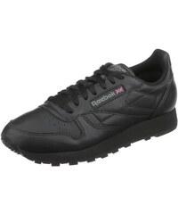 Reebok Classic Leather Sneaker mit weichem Obermaterial aus Leder schwarz 39,40,41,42,43,45,46,47