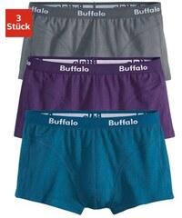 Baumwoll-Hipster (3 Stück) in verschiedenen Farbkombinationen Buffalo Farb-Set 3,4,5,6,7,8