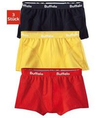 Buffalo Baumwoll-Hipster (3 Stück) in verschiedenen Farbkombinationen Farb-Set 3,4,5,6,7