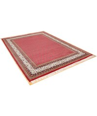 THEKO Orient-Teppich , Chandi Mir 5,0 kg/m² 140.000 Knoten/m² handgeknüpft reine Schurwolle rot 2 (B/L: 70x140 cm),4 (B/L: 170x240 cm),5 (B/L: 90x160 cm)