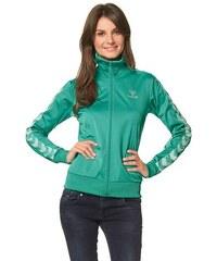 HUMMEL SPORT Hummel Classic Bee Womens Zip Jacket Trainingsjacke grün L (40),XL (42),XS (34)