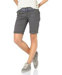 Boysen's Damen Shorts (Set mit Gürtel) grau 32,34 (XS),36,38 (S),40,42 (M),44,46 (L)
