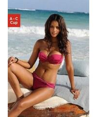 Bügel-Bandeau-Bikini mit 5 Tragevarianten Lascana rot 32 (65),34 (65),36 (70),38 (75),40 (80)