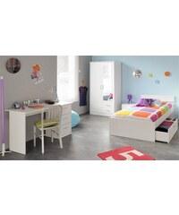 PARISOT Jugendzimmer-Set (4 oder 5-tlg.) weiß