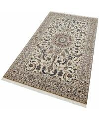 Baur Orient-Teppich Nain Scherkat Royal1 handgeknüpft 450.000 Knoten/m² mit Seidenanteil natur 4 (B/L: 170x240 cm),6 (B/L: 200x300 cm)