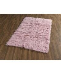 BÖING CARPET Fell-Teppich Böing Carpet Flokati 1500 g handgearbeitet Wolle rosa 1 (B/L: 60x120 cm),2 (B/L: 70x140 cm),3 (B/L: 120x180 cm),4 (B/L: 160x230 cm)