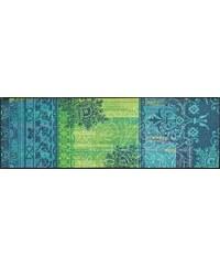 WASH+DRY BY KLEEN-TEX Läufer wash+dry Borda rutschhemmend beschichtet grün 19 (B/L: 60x180 cm)