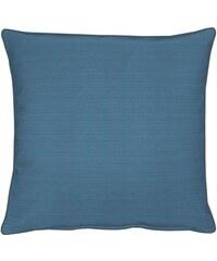 APELT Kissen TIZIAN Uni Rips (1 Stück) blau 1 (39x39 cm),2 (45x45 cm)