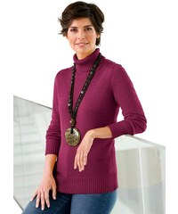 COLLECTION L. Damen Collection L. Pullover mit Rollkragen rosa 36,38,40,42,44,46,48,50,52,54
