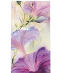 PREMIUM PICTURE Wandbild Hibiskus lila