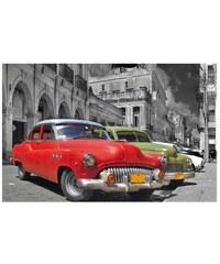 PREMIUM PICTURE Wandbild Classic Car Cuba bunt