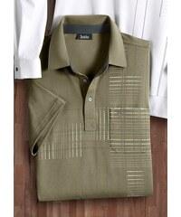 Poloshirt mit Druck HAJO grün 44/46,48/50,52/54,56/58,60/62,64/66