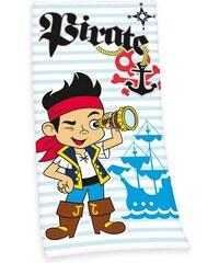 Disney Strandtuch Disney Pirate Jake mit Priaten-Motiv blau 1xStrandtuch 75x150 cm
