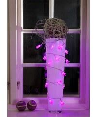 KONSTSMIDE LED Deko-Lichterkette lila