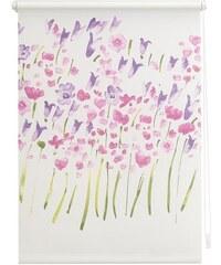 Seitenzugrollo Lichtblick Klemmfix Dekor Monet Summer Lichtschutz Fixmaß ohne Bohren LICHTBLICK weiß 1 (H/B: 180/45 cm),2 (H/B: 180/60 cm),3 (H/B: 180/70 cm),4 (H/B: 180/80 cm),5 (H/B: 180/90 cm),6 (H