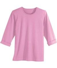 Damen Classic Basics Shirt mit 3/4-langen-Ärmel CLASSIC BASICS rosa 38,40,42,44,46,48,50,52,54,56