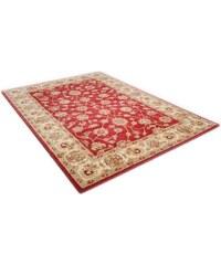 THEKO Orient-Teppich Panjin 4 kg/m² handgetuftet reine Schurwolle rot 1 (B/L: 60x90 cm),10 (Ø 190 cm),2 (B/L: 70x140 cm),3 (B/L: 120x180 cm),4 (B/L: 160x230 cm),6 (B/L: 190x290 cm)