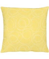 APELT Kissen 4195 Pique Uni (1 Stück) gelb 1 (39x39 cm),2 (48x48 cm)