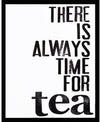 Premium collection by gerahmter Kunstdruck Time for Tea 43/53 cm PREMIUM COLLECTION BY HOME AFFAIRE schwarz
