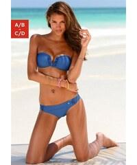Bandeau-Bikini RED LABEL Beachwear S.OLIVER RED LABEL blau 32 (65),34 (65),36 (70),38 (75),40 (80)