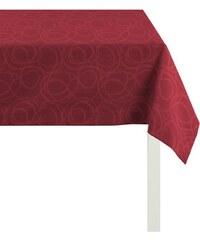 APELT Tischdecke 4195 Piqué - UNI rot 1 (85 x 85 cm),2 (150 x 250 cm)