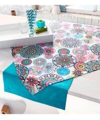 Tischwäsche uni- Baur blau
