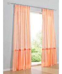 Dekoschal Heine orange ca. 145/140 cm,ca. 175/140 cm,ca. 225/140 cm,ca. 245/140 cm