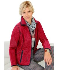 COLLECTION L. Collection L. Fleece-Jacke rot 36,38,40,42,44,46,48,50,52,54